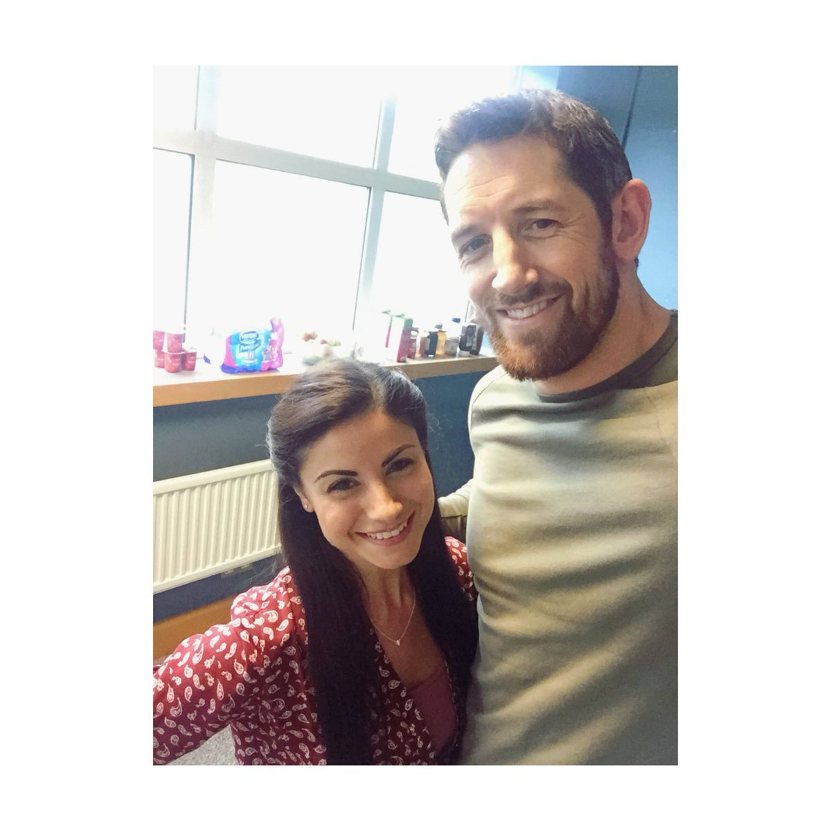 With the lovely @StuBennett @EvoFilmsUK day 1 on @vengeancefilmuk finished!! ☺️ https://t.co/AtiQalQ1QF