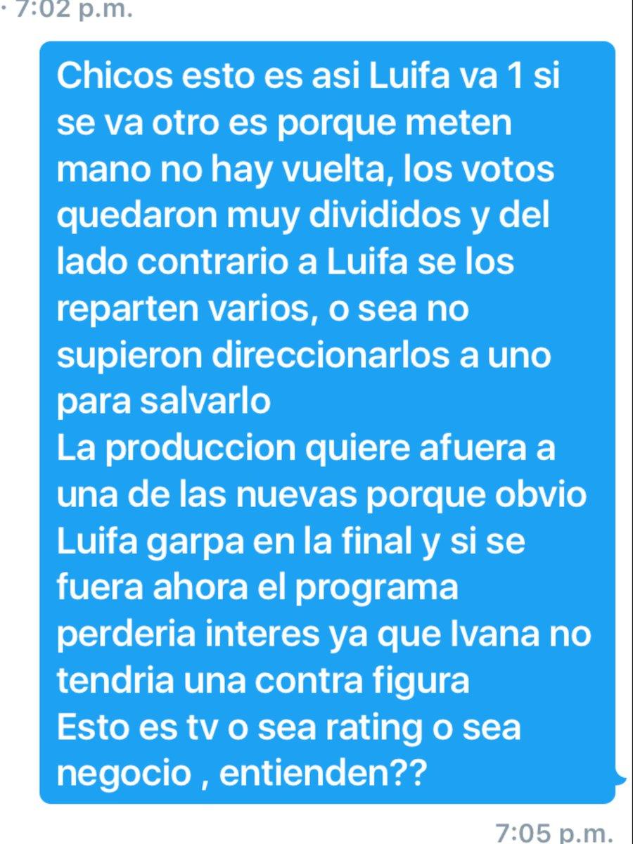 ::: TUC GALA DE NOMINACION/EXPUSION  DE MIERCOLES 27.07.2016:: CoUxrhUXEAEgeeL