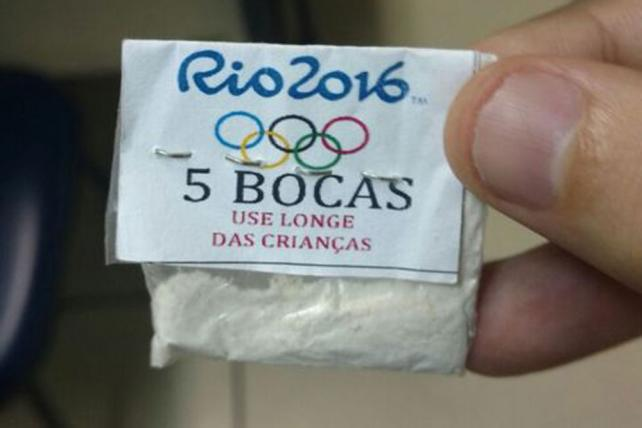 Branding news: Olympic logo being used by Rio cocaine dealers https://t.co/0nDFYeQNLb https://t.co/xJYq9g2shU