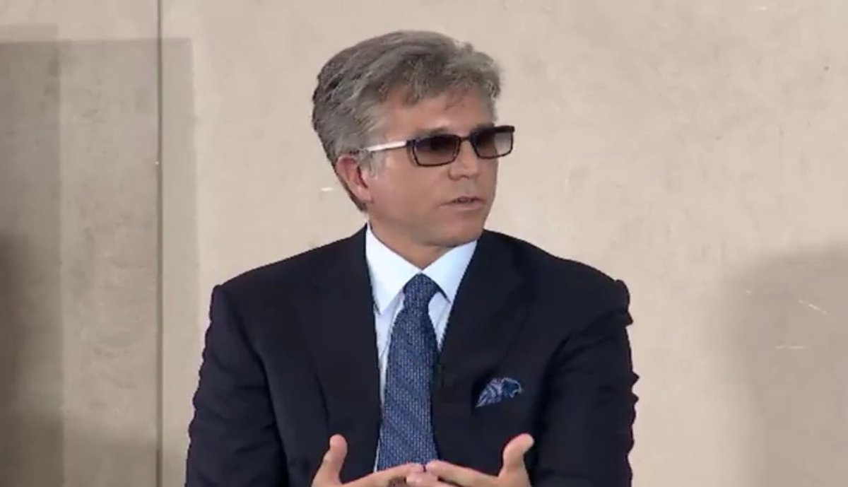Bottom line on #empathy from @BillRMcDermott? Don't judge people and treat everybody with kindness. #WeTheFuture https://t.co/xlKAhA0gLs