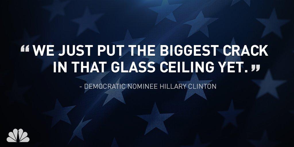 Hillary Clinton makes history in Philadelphia at DemConvention