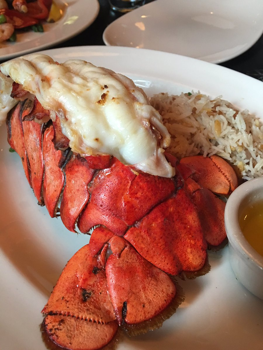 Twitter post: RT @TaraNoland: Look at this Lobster Tail @TheKeg,…Read more. Opens full post in an overlay