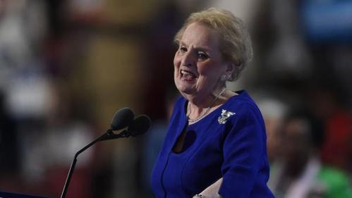Madeleine Albright says Trump has