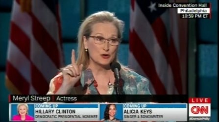 #MerylStreep says @HillaryClinton WILL be the next President of the United States! WATCH! https://t.co/SSvxHWcV3Q https://t.co/pR1JQti6y2