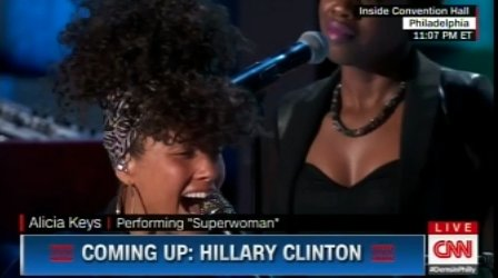 .@aliciakeys & @HillaryClinton close out a historic day at the 2016 #DNC! WATCH HERE! https://t.co/8ZNAzOMPWJ https://t.co/OAc7xwzUkl