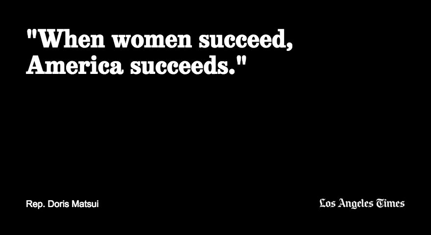 Rep. Doris Matsui on women in America at the Democratic National Convention