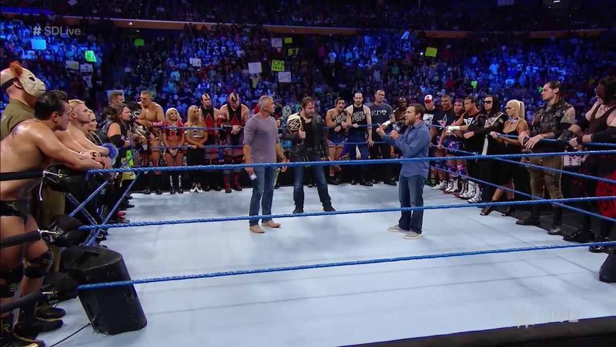 Resultats WWE SmackDown 26 juillet