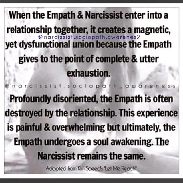 Empaths narcissists