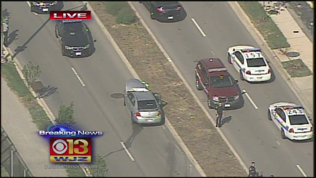 UPDATE: 2 injured in police-involved accident in Baltimore City