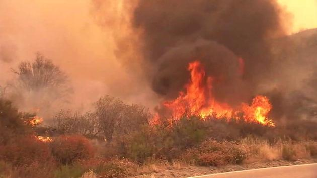 State of emergency declared in LA, Monterey counties for wildfires