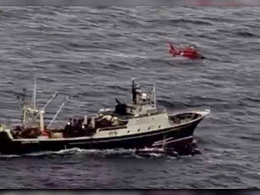 DEVELOPING 46 people abandon Seattle-based fishing vessel in Alaska, via @USCGAlaska -