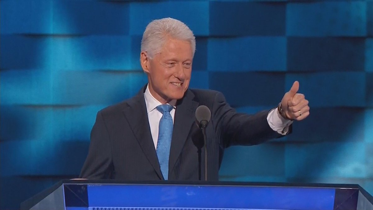 Former President Bill Clinton speaks to DemsInPhilly. WATCH