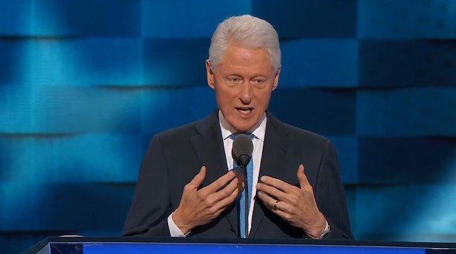 """""""Knowing her -- was one of the greatest gifts Hillary ever gave me."""" @billclinton live >>"""