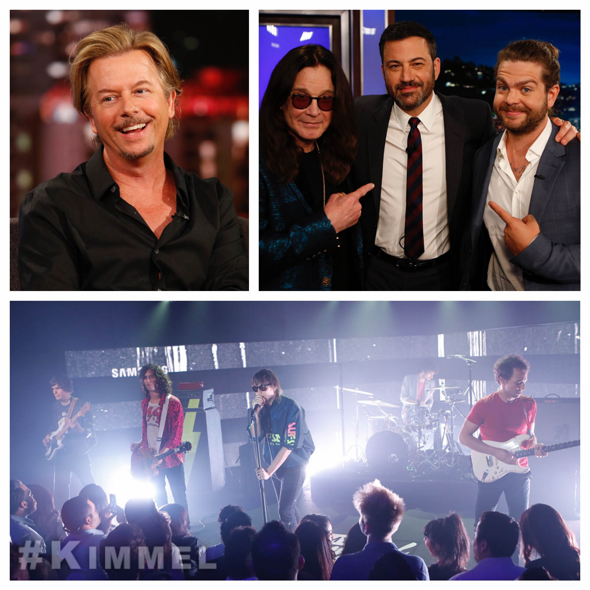 RT @JimmyKimmelLive: Tonight @DavidSpade @OzzyOsbourne @JackOsbourne @TheStrokes & a special #BoysTellAll episode of #TheBabyBachelorette h…
