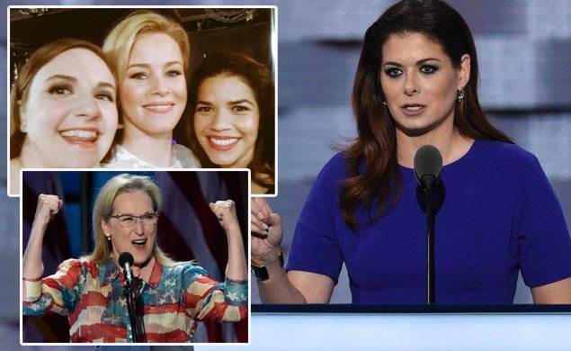 Meryl Streep, Lena Dunham, America Ferrera and more stars show their support at DNC