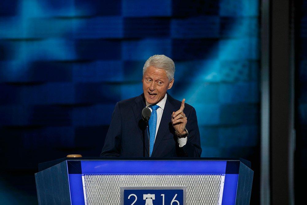Bill Clinton introduces 'the real' Hillary Clinton