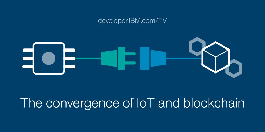 The convergence of IoT and blockchain