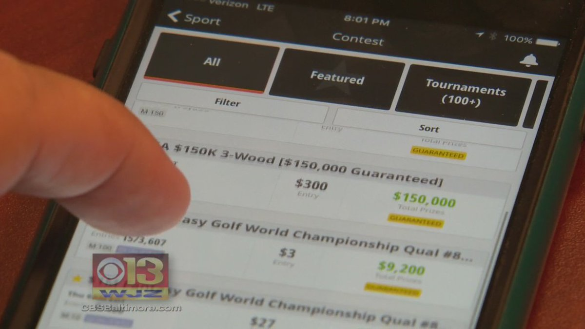 Md. comptroller eyeing up big changes for daily fantasy sports: @RickRitterWJZ