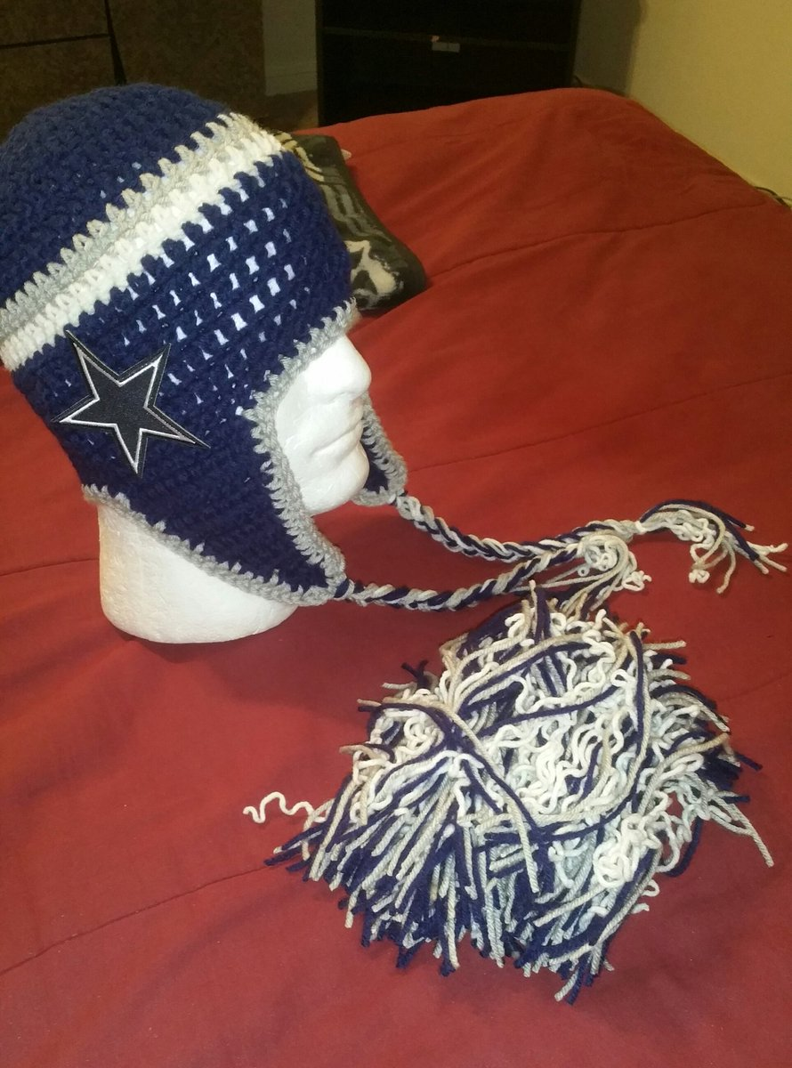 Crochet By Wcdesigns On Twitter Dallas Cowboys Inspired Handmade