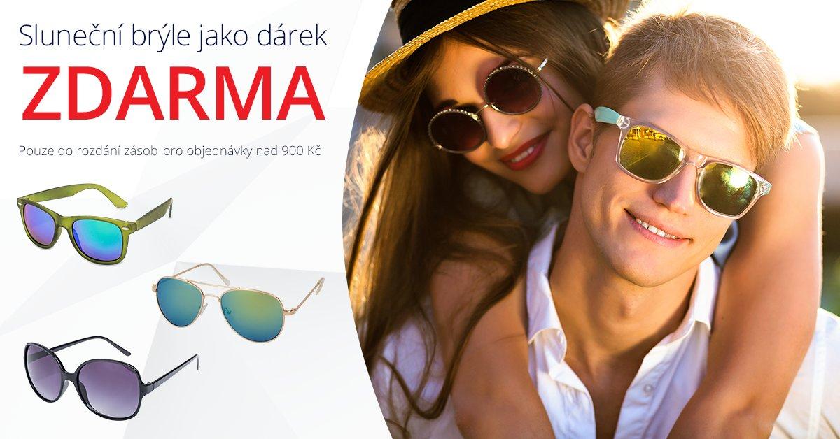 K čočkám sluneční brýle ZDARMA! Platí do rozdání zásob pro objednávky nad 900,- Kč. https://t.co/TO7vDx0xkX https://t.co/25x5B7pS4G