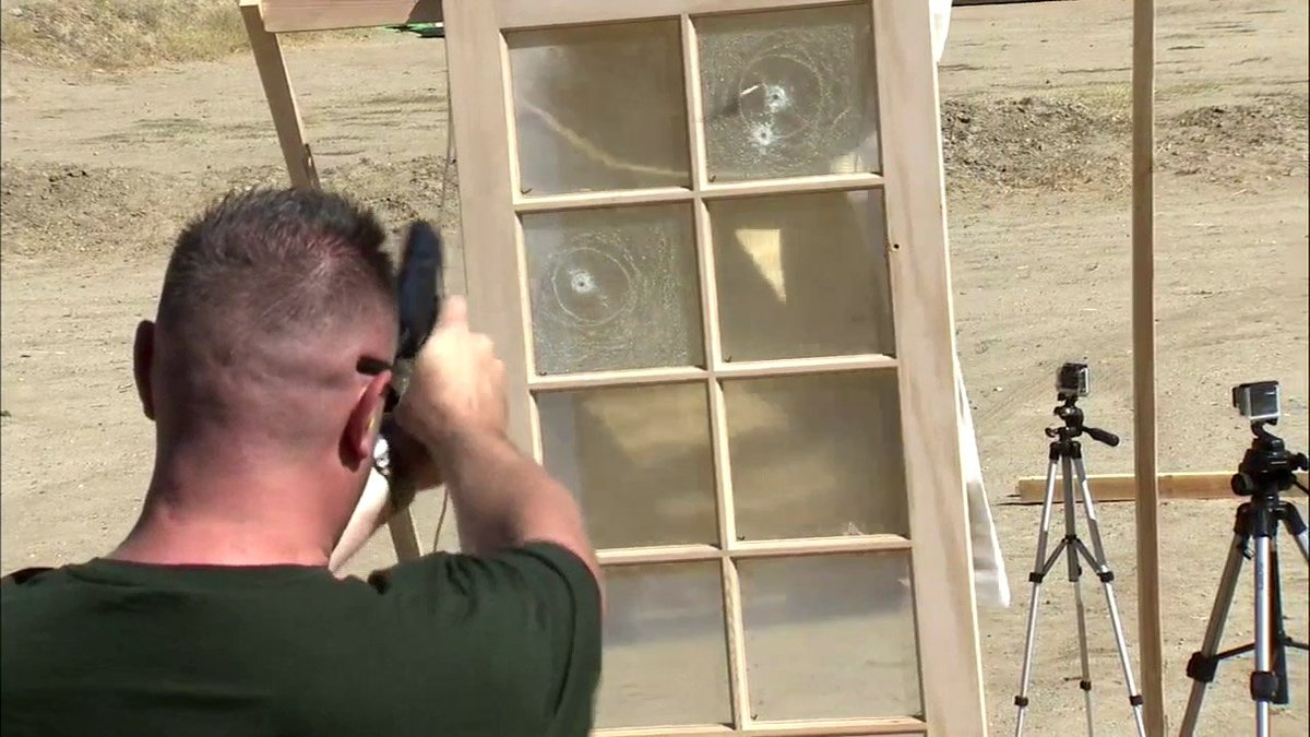 LA inventor creates Bullet Proof Blinds