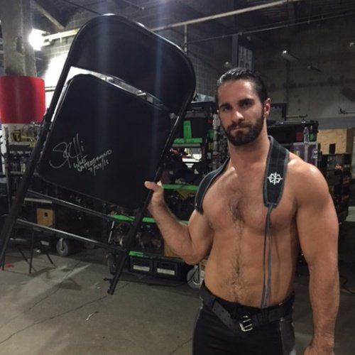 "Rollins Chair: Daily Ambrollins On Twitter: ""WWE Auction: Seth Used"