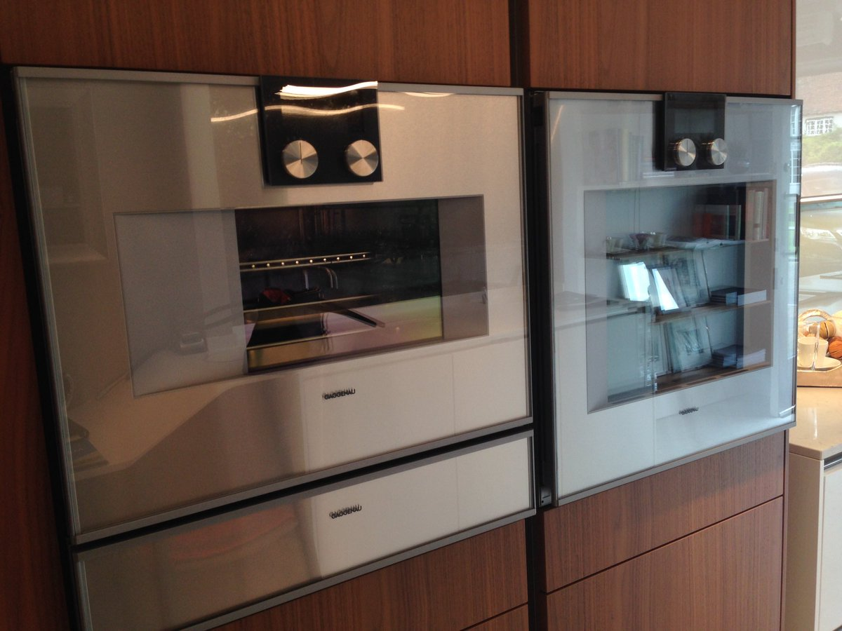 gaggenau steam oven now installed in our studio healthy convenient cooking for todayu0027s