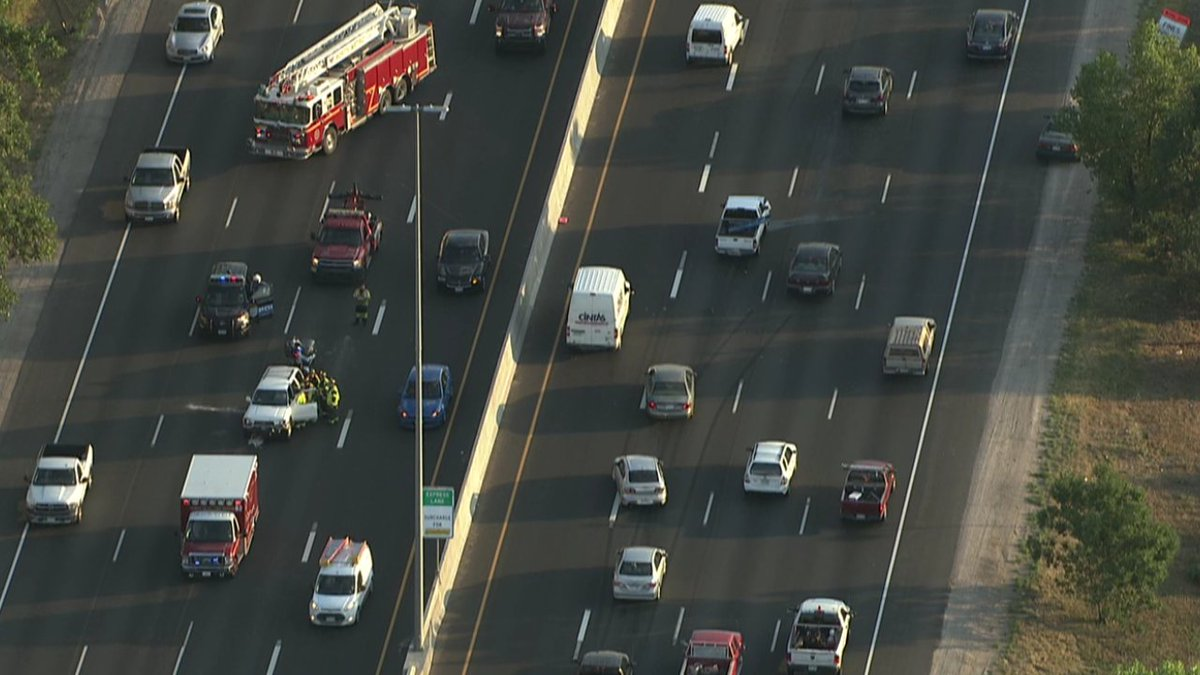Well why not - A 2-fer a crash in both directions @Goodayco Cotraffic