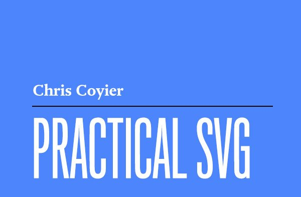 We're back with great news:   Practical SVG by @chriscoyier is available TODAY!    https://t.co/ZIV2v965hE https://t.co/phB7k6MOJV