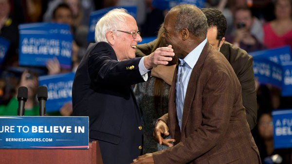 Bernie Sanders cancels on PA delegates, Danny Glover replaces DemsInPhilly DemConvention