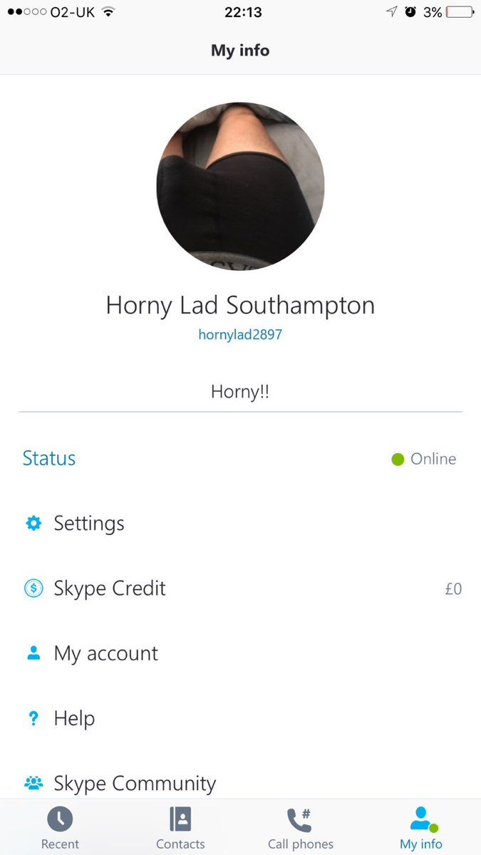 Horny girls skype names