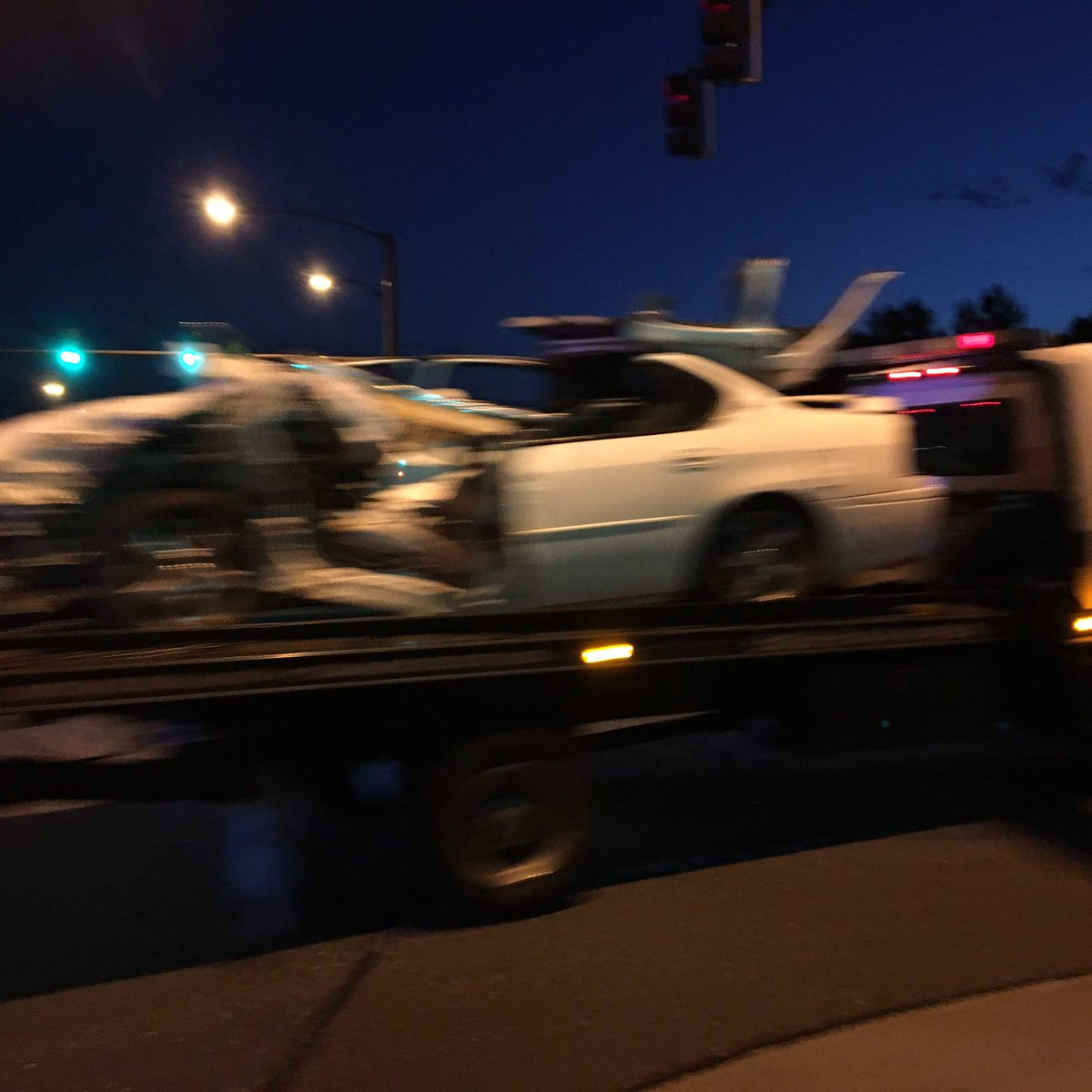 Washington re-opens at 128th-in Thornton-after alleged hit-&-run driver chase ends in crash!@GoodDayCO @ch2daybreak