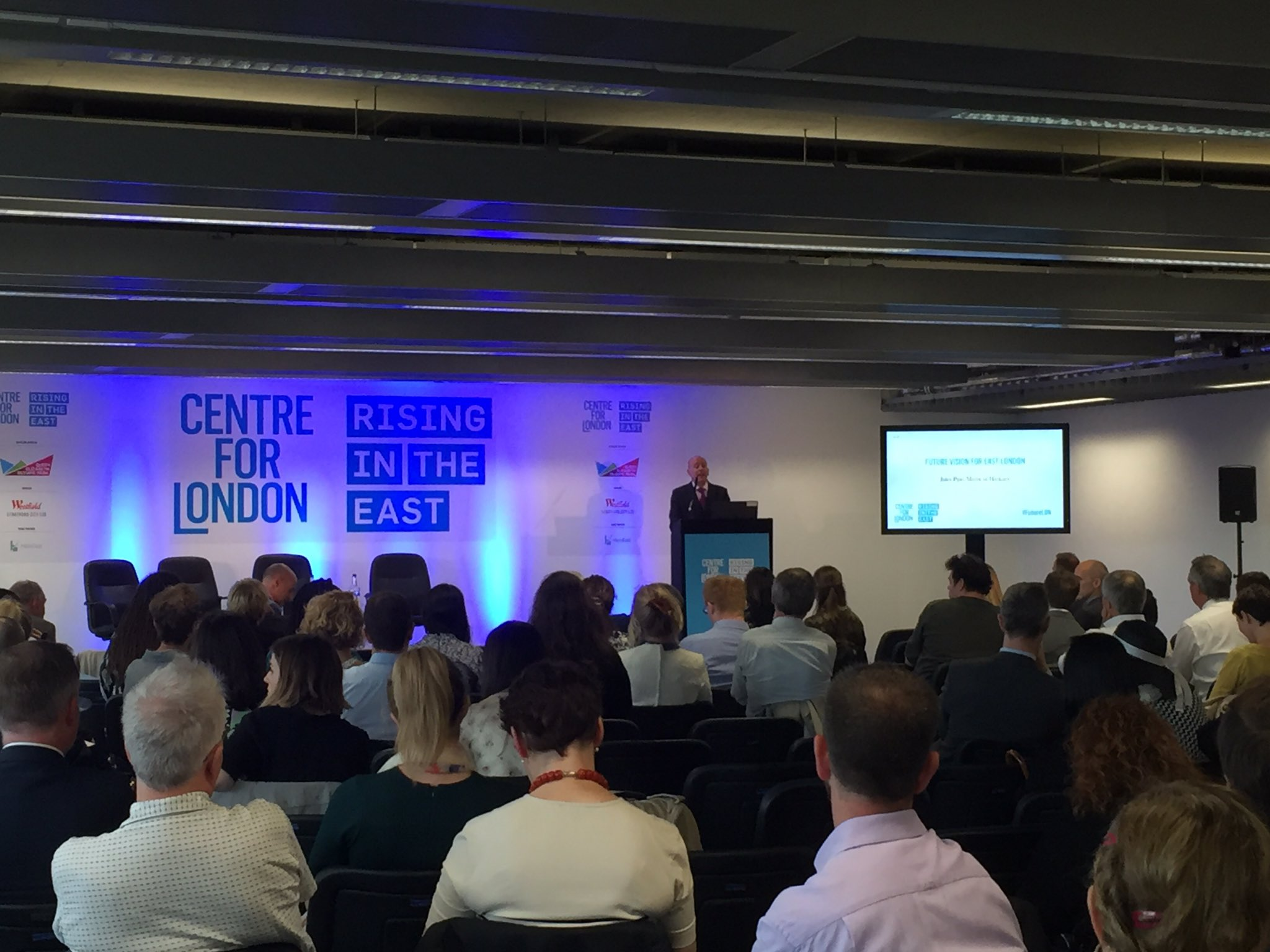 What does the future hold for east London?   Mayor Pipe @hackneycouncil joins us to set out his vision #FutureLDN https://t.co/jz7dLFeUwF