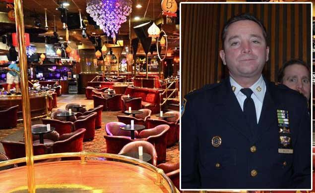 SINNING IN THE CITY: Former NYPD cop on payroll of Bronx strip club busted for drugs