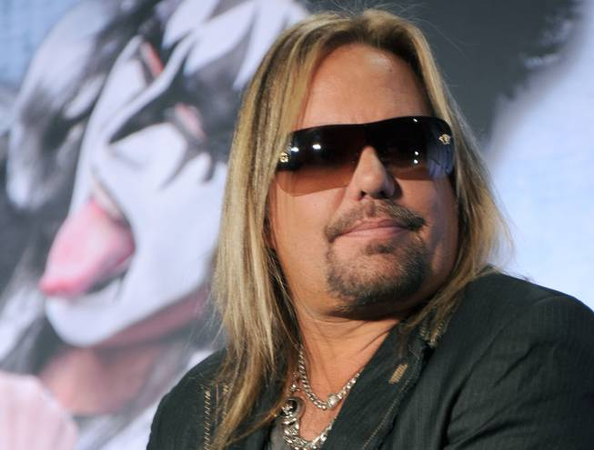 Not guilty plea entered for Vince Neil in battery case