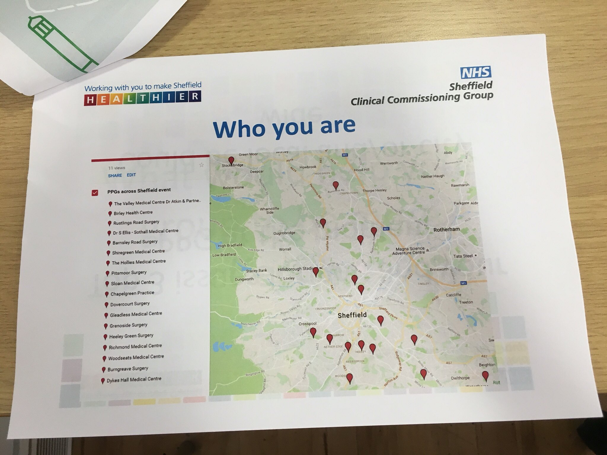 We're welcomed by a wide variety of PPGs from across Sheffield #PPGsheffield https://t.co/jwaQbW9S2B