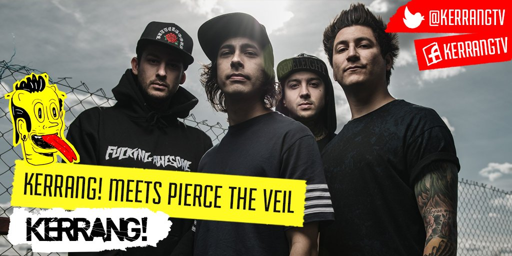 Our @piercetheveil night is GO! K! Meets Pierce The Veil is up in 10 mins then its their Guide To 21st Century Rock! https://t.co/dlXBMETsOP