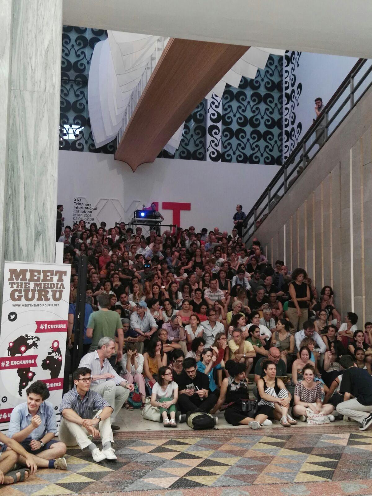 Che spettacolo! Grazie a tutti i voi, dal MtMG team. Siete una splendida community. #futureways https://t.co/lseSk2ihfd
