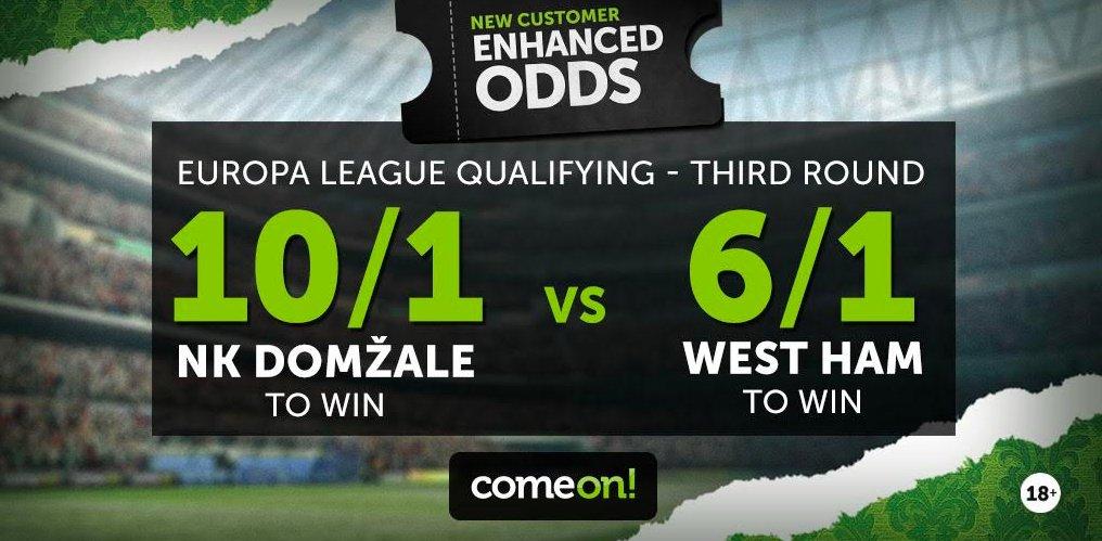 ComeOn Enhanced Odds