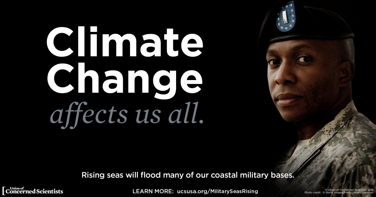 Climate Change Threatens U.S Military Installations