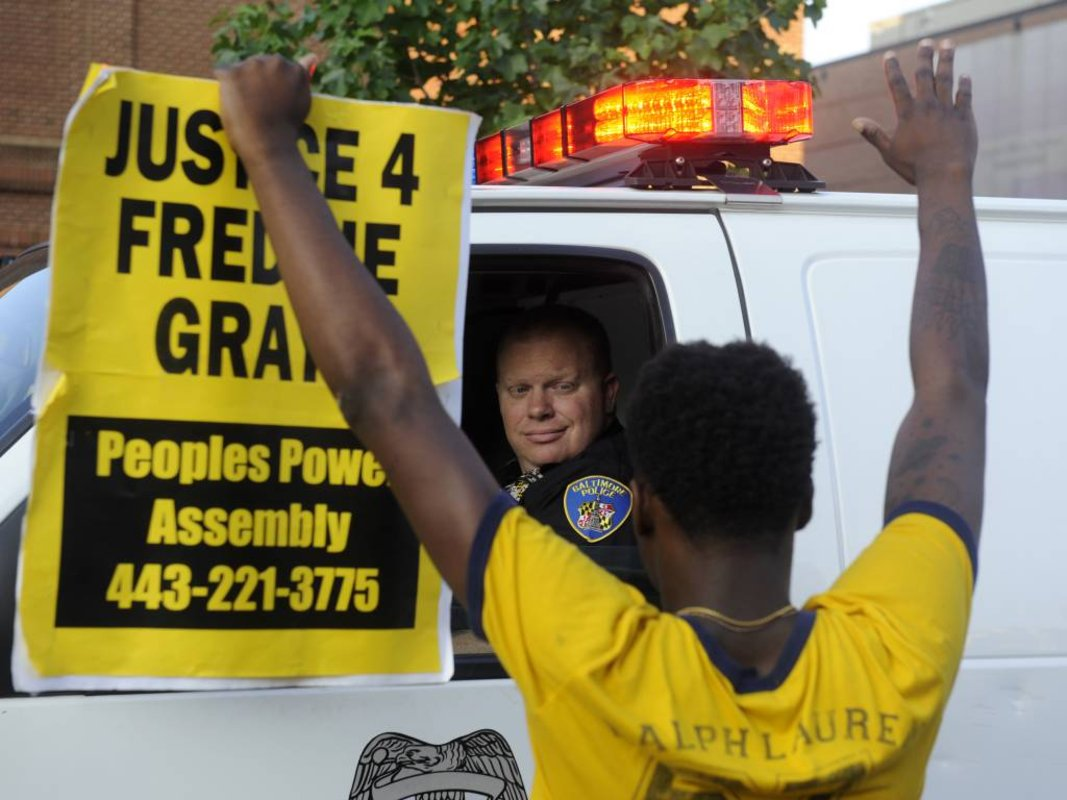 Prosecutors drop remaining charges against officers in FreddieGray case