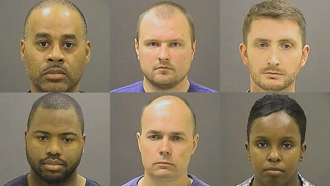 JUST IN: Charges dropped against officers in freddieGray case