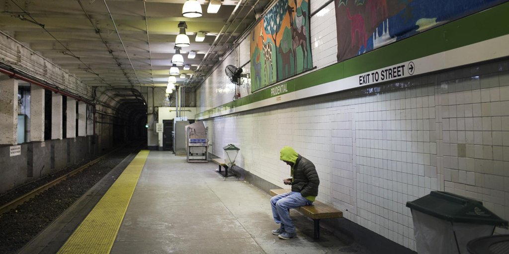 Did the MBTA violate civil rights by shutting down late-night weekend subway service?