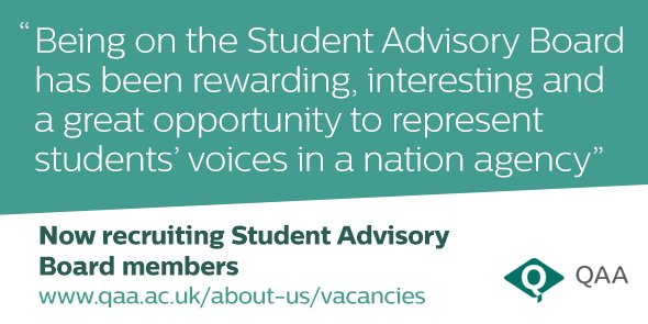 We're looking for up to 7 current students or recent graduates and 3 students' union staff members to join our SAB! https://t.co/PZ1VCd5A4l