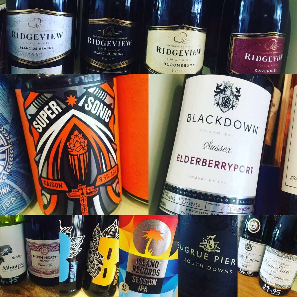 The best of Sussex @FourthAndChurch with @ButlersWine @RidgeviewWineUK @BDSpirits @BedlamBrewery @TBCdistribution https://t.co/jO8fhhquwH