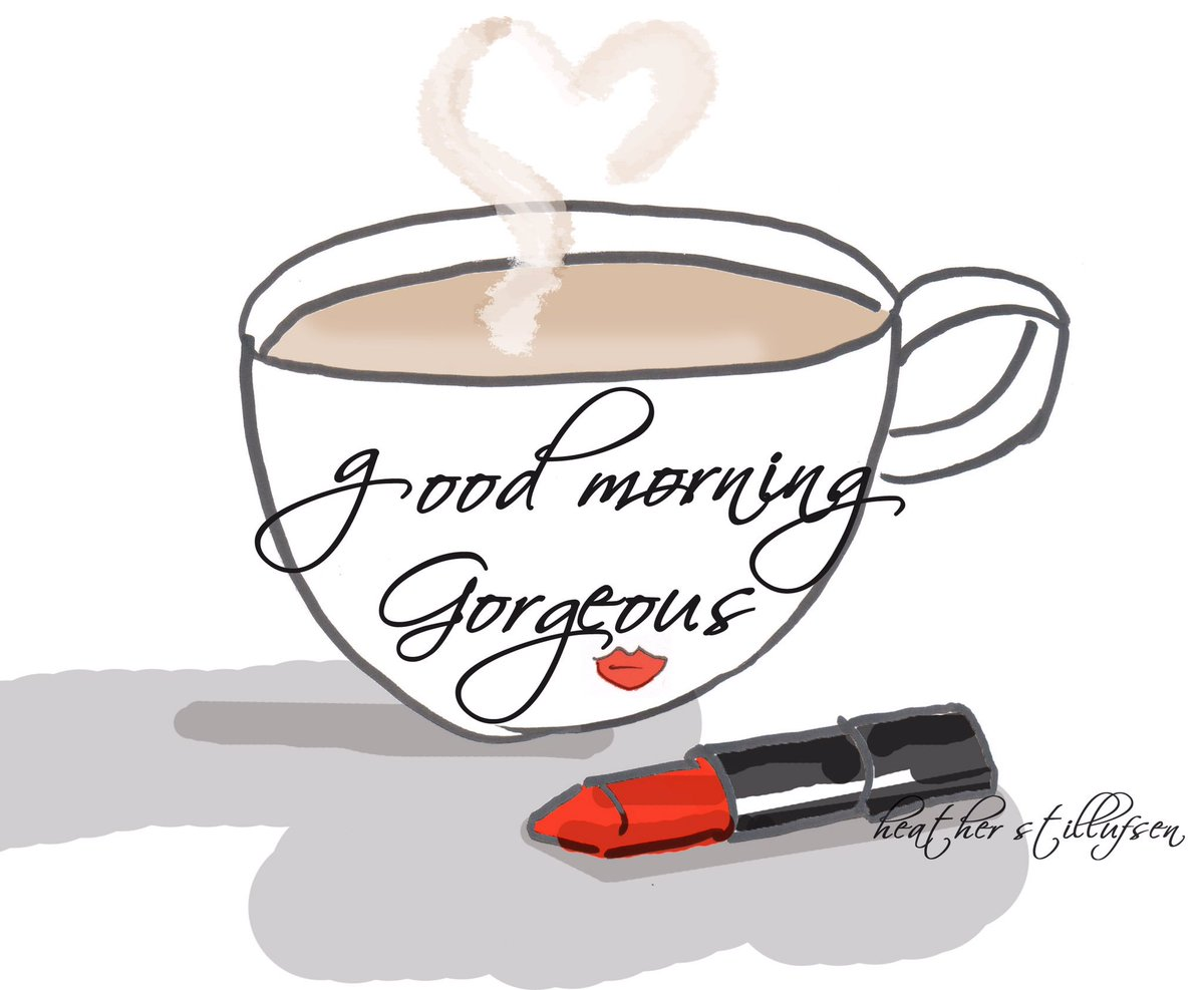 Good Morning In Spanish To A Lady : Heather stillufsen on twitter quot 💋 good morning gorgeous