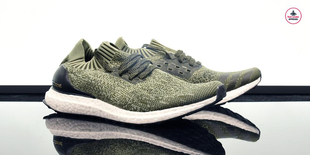 Adidas Ultra Boost Olive Uncaged