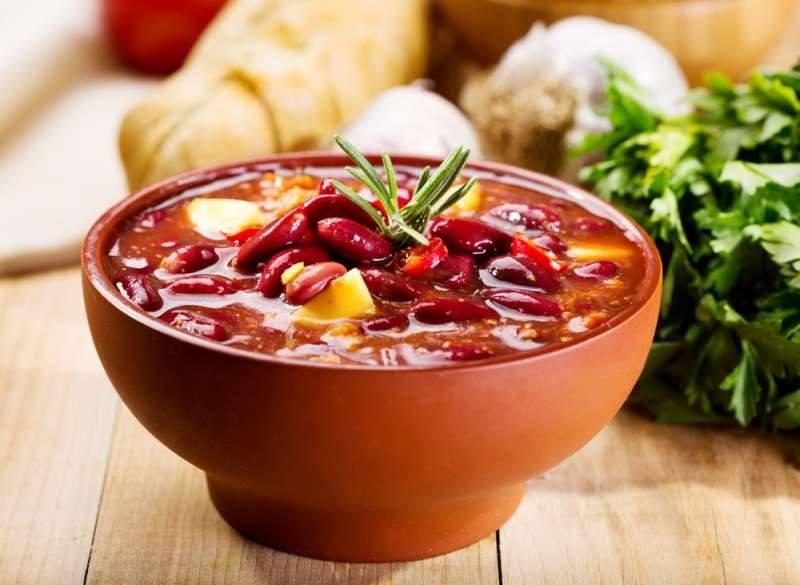 Фасолевый суп рецепт из красной фасоли