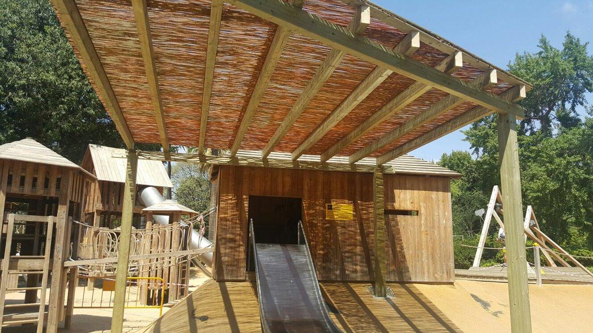 Aires de jardin madera on twitter pergola de madera for Cubiertas acristaladas