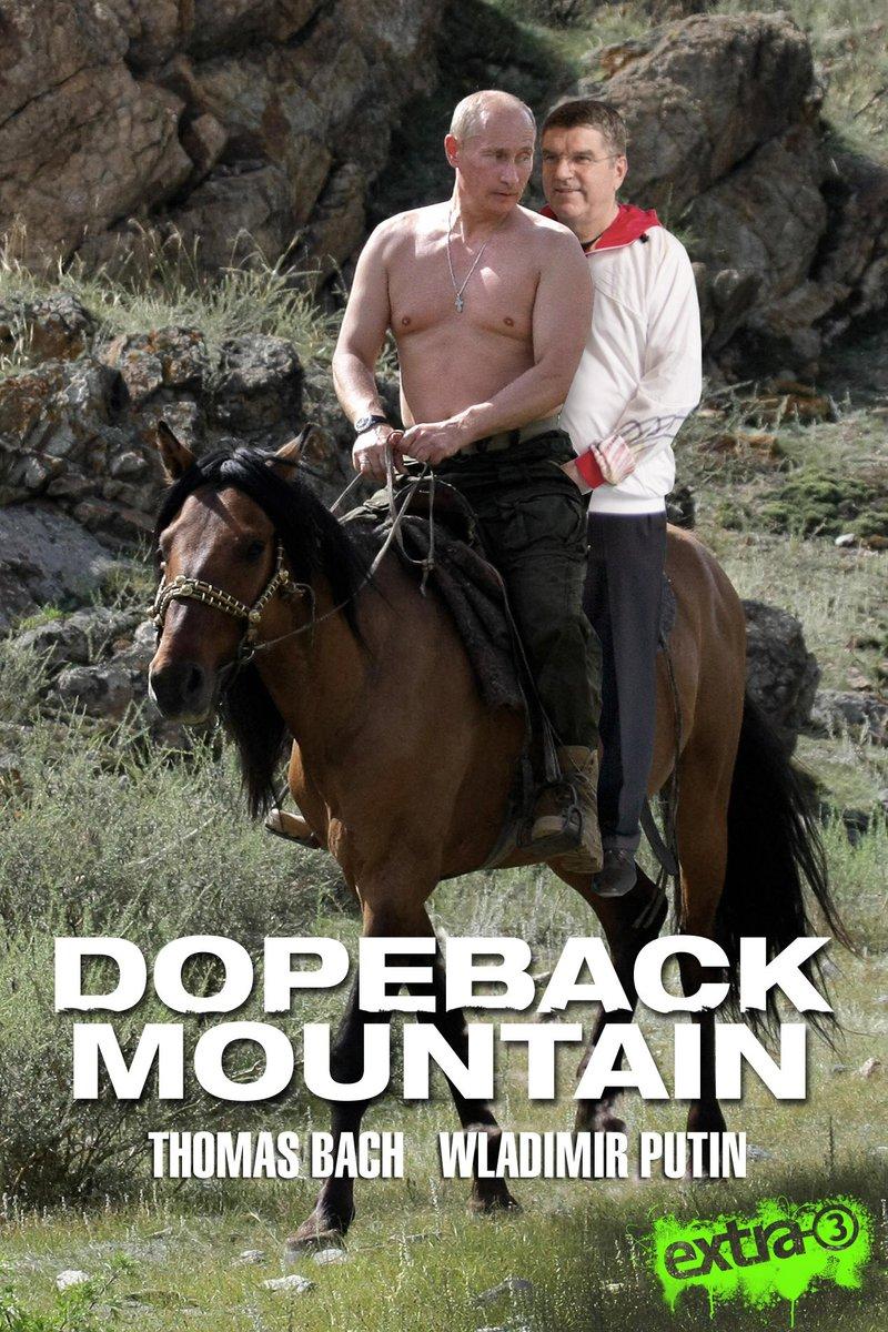 Eine Komödie um 'saubere' Olympische Spiele. Die Story: ziemlich irre. Die Besetzung: hochklassig! #Bach #Putin #IOC